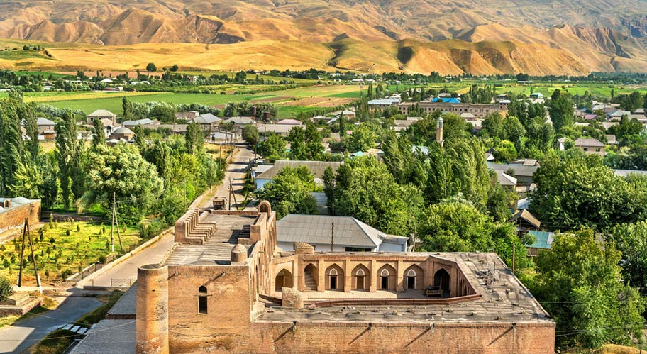 Hisor Fortress Kultur Tadschikistan