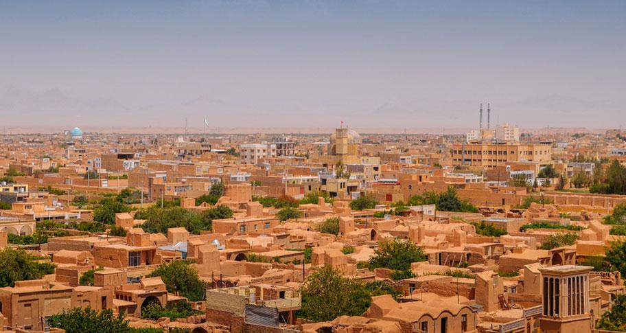 Yazd  Historische Stadt im Iran