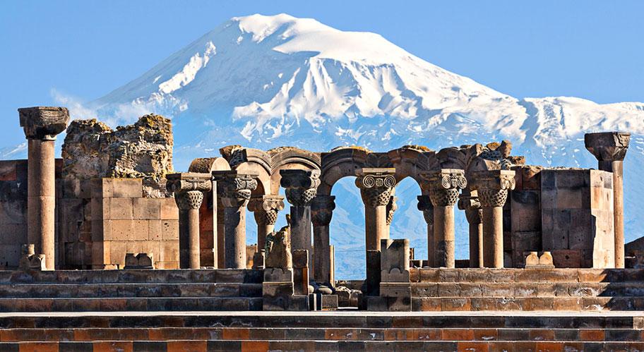 Armenien Kulturreisen Zvartnots Tempel