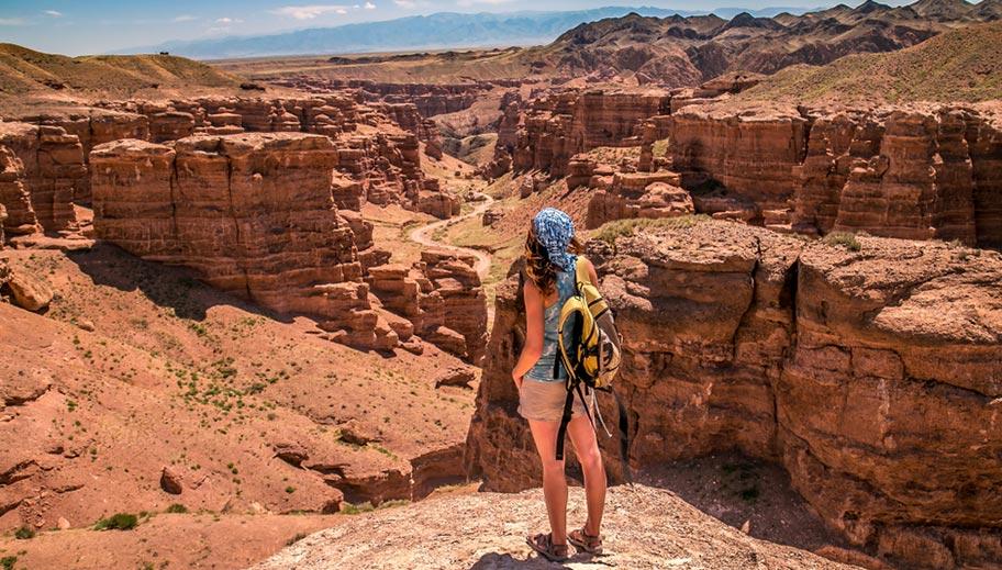 Charyn Canyon Kasachstan Highlights