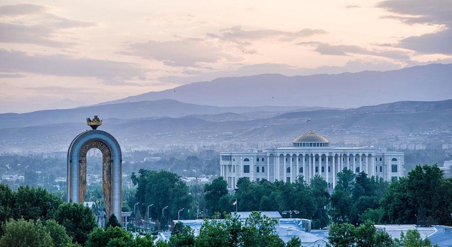 Duschanbe Hauptstadt Tadschikan