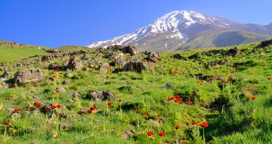 Iran Trekkingreise Mount Damavand
