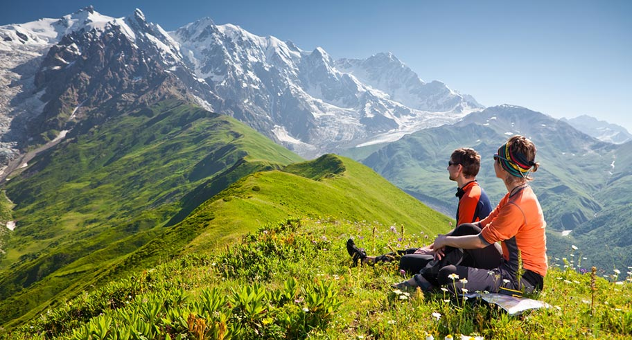 Kaukasus Reisen - Wandern in Georgien