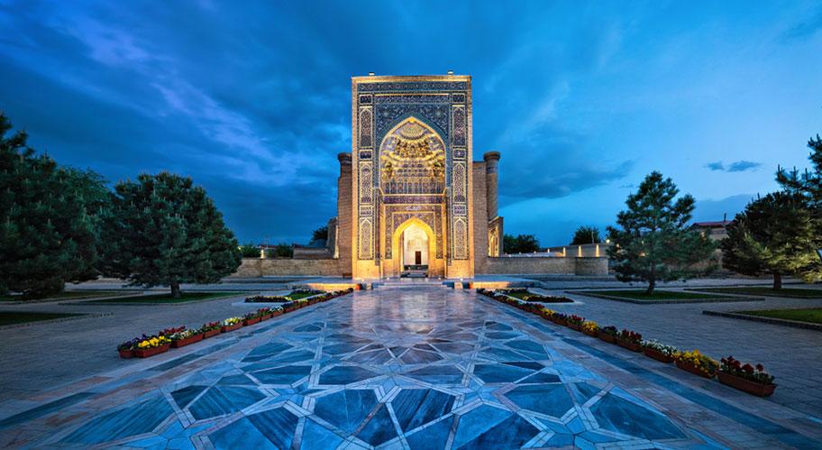 Smarkand - orientalische Stadt Usbekistan nicht Kuoni