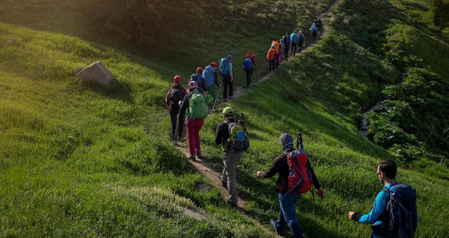 Wanderferien im Iran - Frühling Wandergruppe