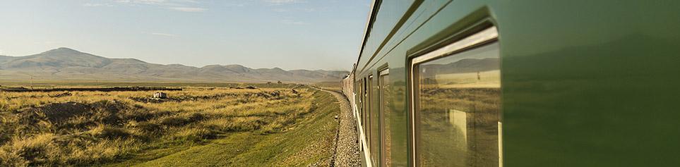 Zugreisen Seidenstrasse